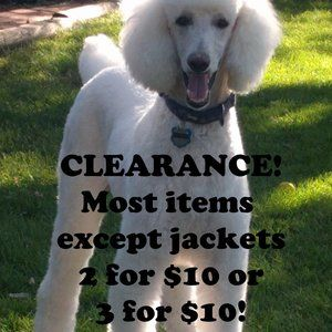 SALE! 3 for $10, 2 for $10